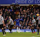 Chelsea 2 Newcastle United 1: Willian wins it for Blues
