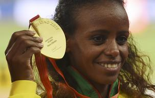 The weather here helped me - Dibaba