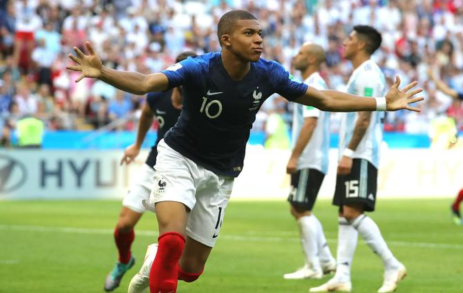 Incredible Mbappe faces ultimate World Cup test against Godin and Uruguay