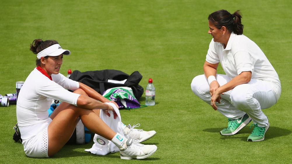 Languid Garbiñe Muguruza knocks out yet another top seed in Svetlana Kuznetsova