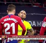 PitchCam: Arturo Vidal Starts In Barcelona Draw
