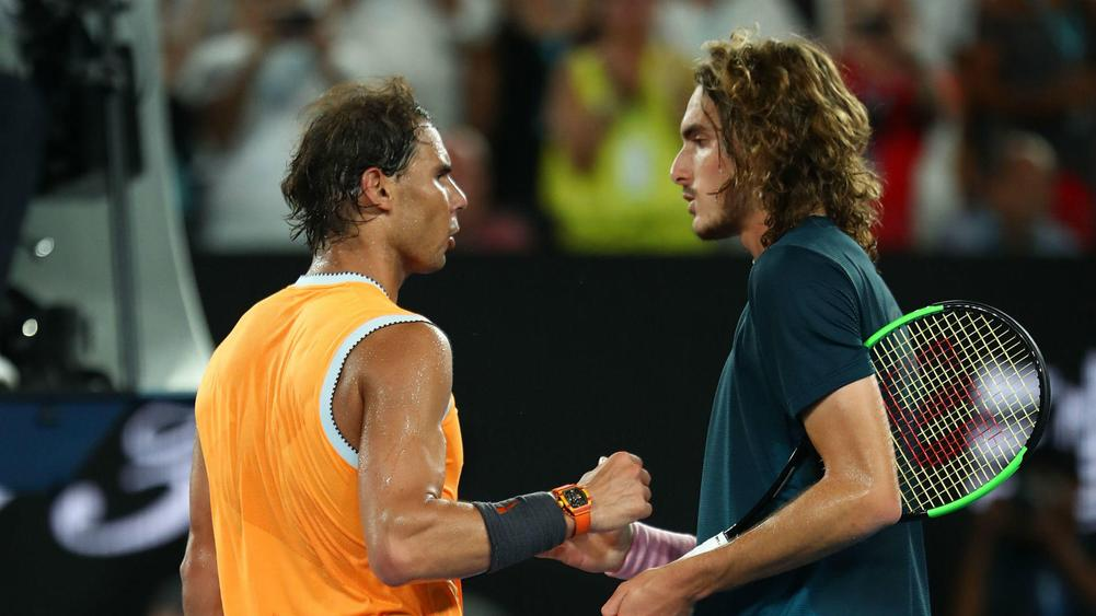 Tsitsipas Dazed And Confused After Nadal Drubbing