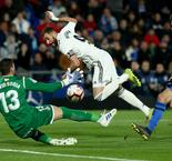 Getafe 0 Real Madrid 0: Zidane's men held by Champions League chasers