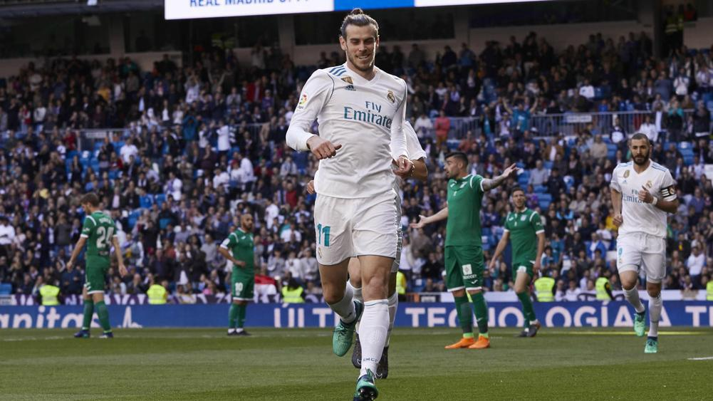 Bale helps Los Blancos past Leganes
