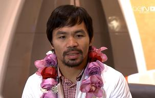 Pacquiao arrives in Doha