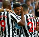 Perez hat-trick all but seals Newcastle safety
