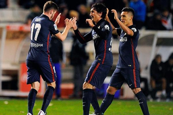 Rayo Vallecano 1-1 Atletico Madrid
