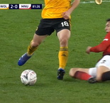 Lindelof has red card changed to yellow by VAR