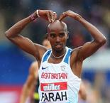 Mo Farah seals 3000m victory in final UK track appearance