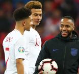 Sancho hails Sterling's mentoring influence with England