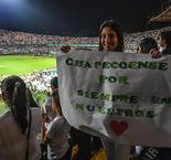 Atletico Nacional fans in moving 'Chape' tribute