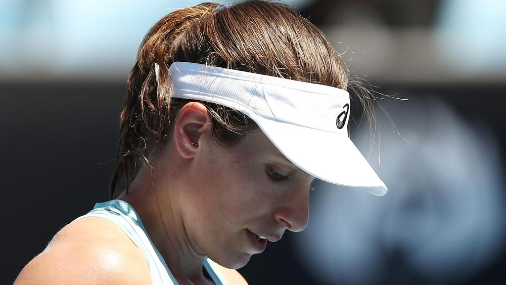 Australian Open: Johanna Konta plays down shock exit