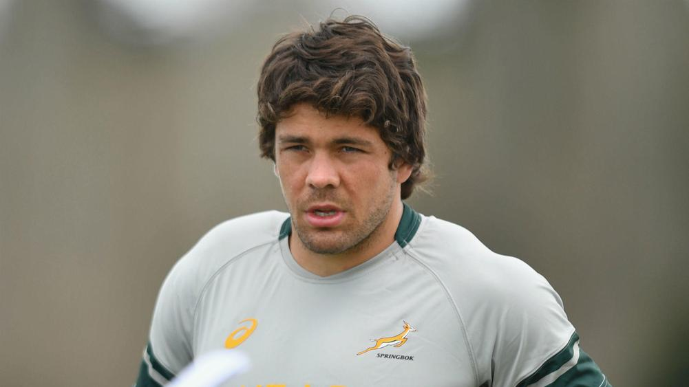 No. 8 Warren Whiteley named new Springboks captain