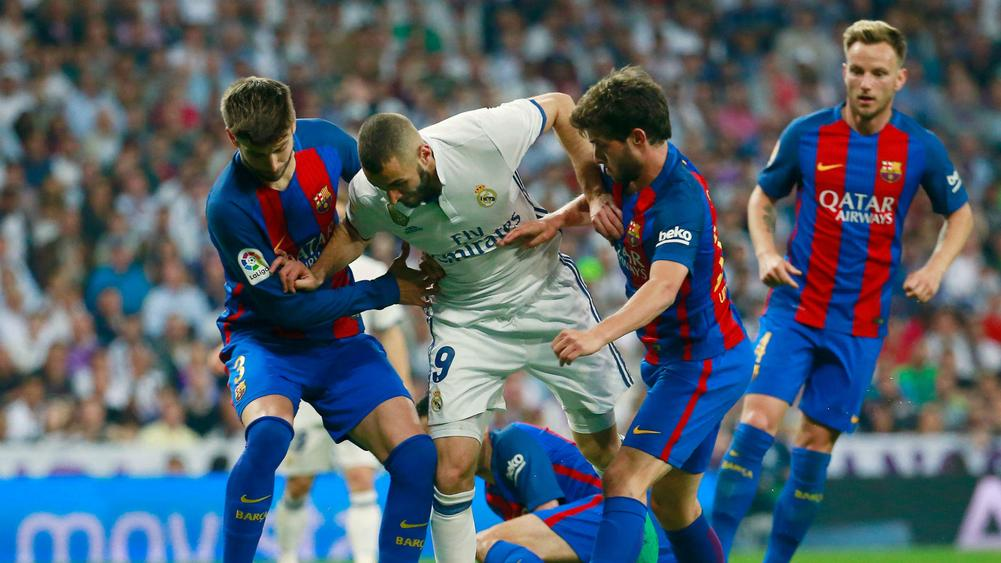 eba997f8a2a Real Madrid v Barcelona  El Clasico XIs compared