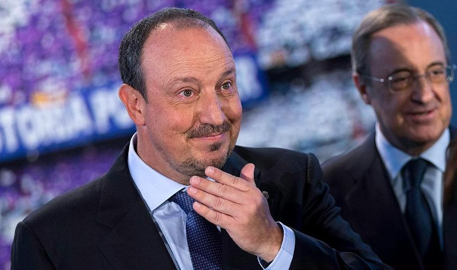 Florentino Perez confirms Rafael Benitez will keep Real Madrid job