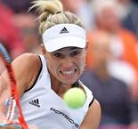 Germany's Kerber levels against Swiss