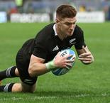 Four-try Jordie Barrett takes his chance as All Blacks demolish Italy