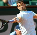 Dimitrov gets the better of Safwat to progress to the second round of the French Open