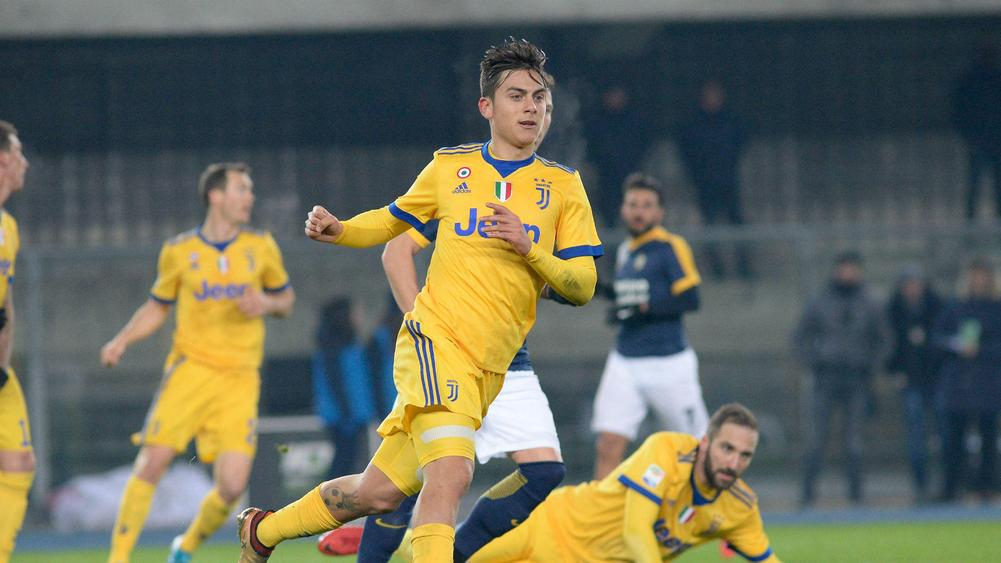 Verona 1 Juventus 3  Brilliant Dybala at the double on Juve return 2c757583e4b