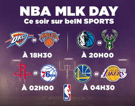 MLK Day sur beIN SPORTS