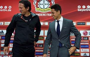 Chichartio Hernandez Introduced at Leverkusen