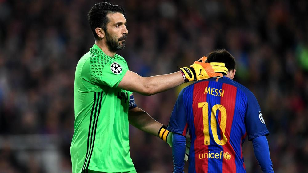 7ada4cfb752 Gianluigi Buffon Surprised By Clean Sheet Against Barcelona