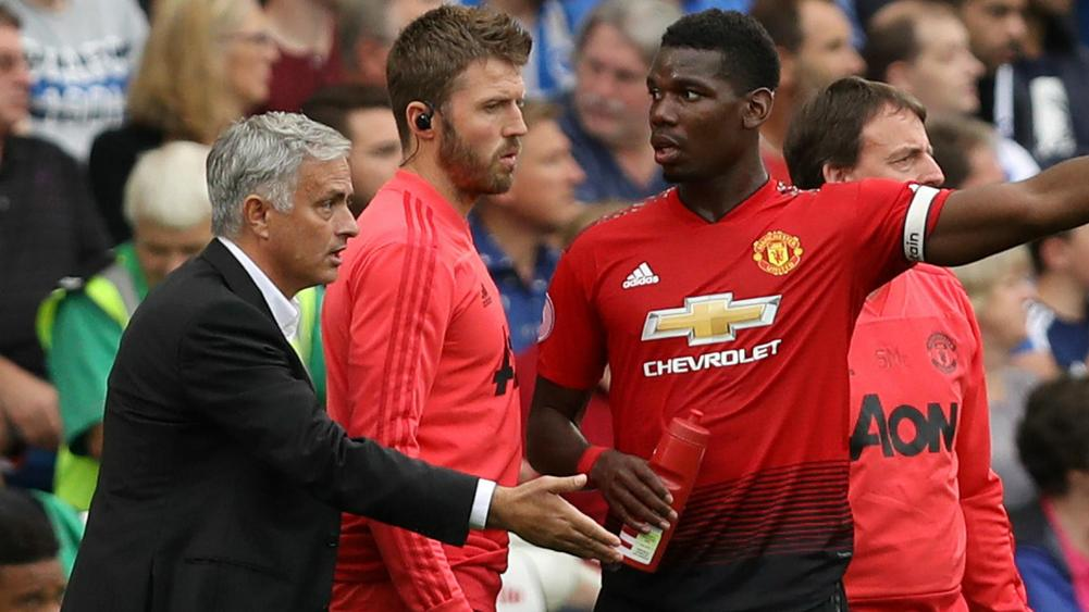 Jose Mourinho and Paul Pogba - cropped