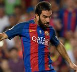 Arda fires brace as Barca collects Spanish Supercup