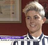 2019 Women's World Cup - Michelle Heyman Interview