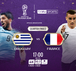 2018 FIFA World Cup- Uruguay Vs France-Match Stream- Predicted Teams, World Cup Fixtures, Team News, Kick-off times, Watch Online