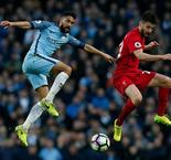 Premier League: Manchester City 1 Liverpool 1