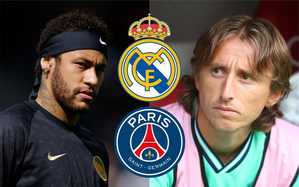 sports shoes a7348 3d1cc Report: Real Madrid Offer $135m Plus Modric For Neymar