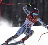 Czech Ledecka wins shock Olympic super-G, Vonn sixth