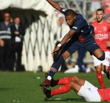 Mbappe's red reaction baffles Nimes' Savanier