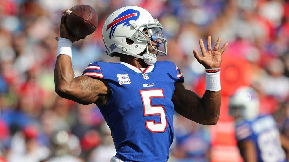 Bills QB Tyrod Taylor likely starts vs. Dolphins
