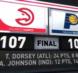 GAME RECAP: Hawks 107, Pacers 101