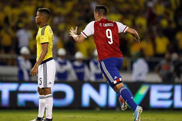 Colombia 1-2 Paraguay