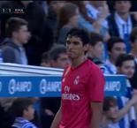 Vallejo Sees Red For Handball But Penalty Saved By Courtois To Keep It 1-1