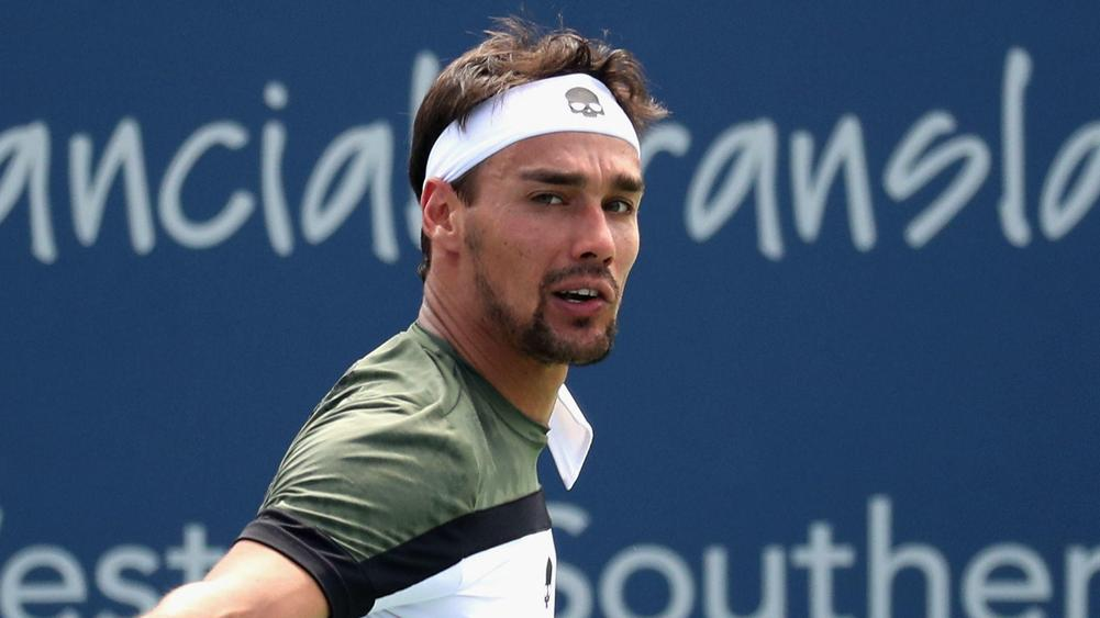 Fognini suspended from US Open, withdrawn from doubles
