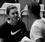 Halep Ends Collaboration With Coach Van Cleemput