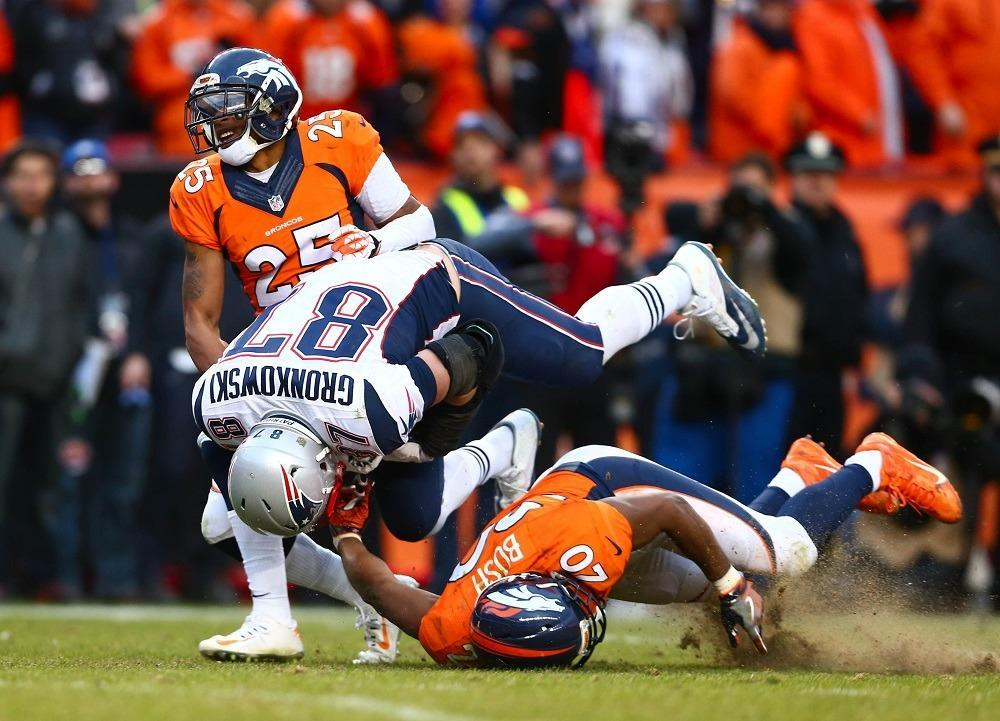 Denver Broncos vs. New England Patriots For AFC Title