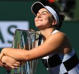 Blissful Andreescu Stuns Kerber To Win Indian Wells Title